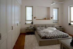 חדר שינה בעיצוב מדרה